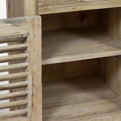 Wanduhr Schmiedeeisern Holz by Homania